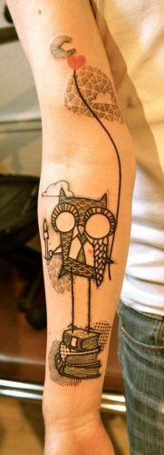 tatuajes de buhos15