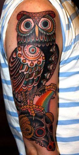 tatuajes de buhos18