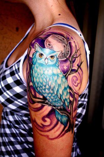 tatuajes de buhos20