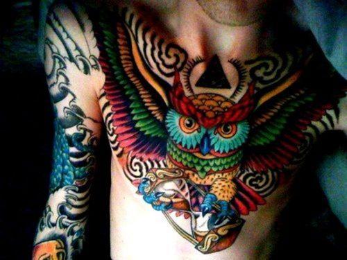 tatuajes de buhos32