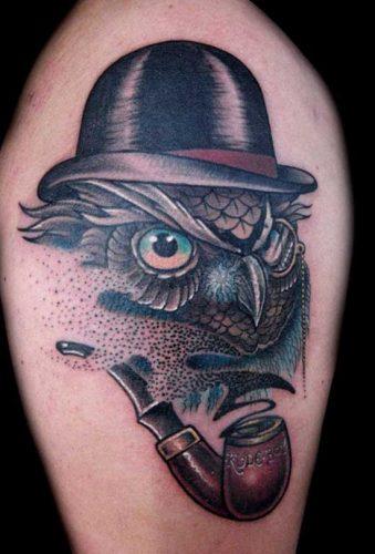 tatuajes de buhos36