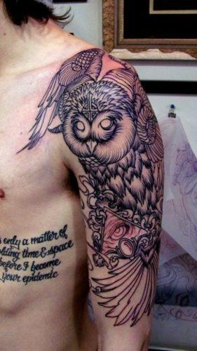 tatuajes de buhos40