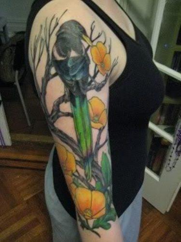 tatuajes de cuervos1