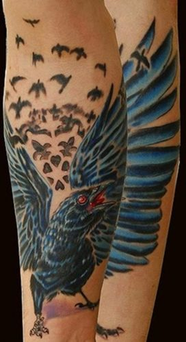 tatuajes de cuervos10