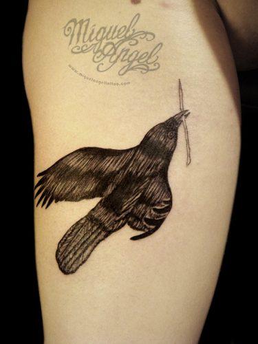 tatuajes de cuervos22