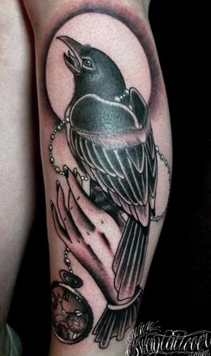 tatuajes de cuervos26