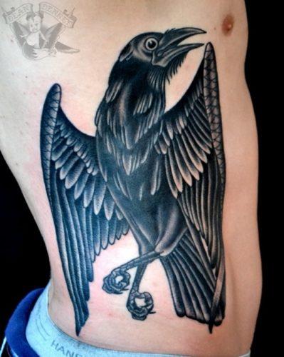 tatuajes de cuervos29