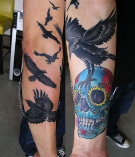 tatuajes de cuervos3