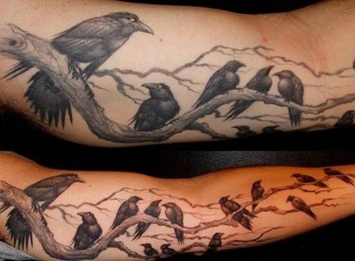 tatuajes de cuervos4
