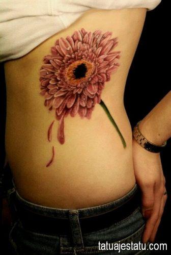 tatuajes de margaritas flor10