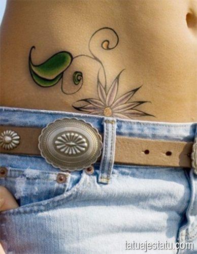 tatuajes de margaritas flor28