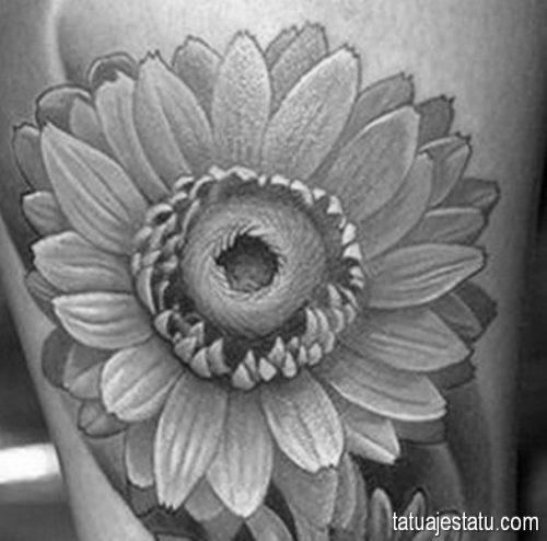 tatuajes de margaritas flor7