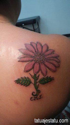 tatuajes de margaritas flor9