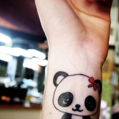 25 Increíbles tatuajes de Osos Pandas