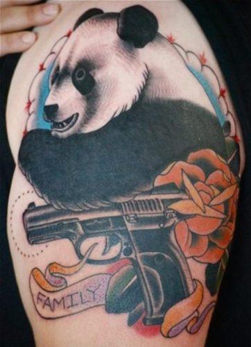 tatuajes de pandas7