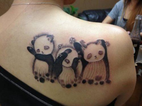 tatuajes de pandas9