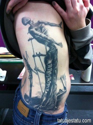 tatuajes salvador dali1