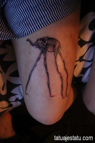 tatuajes salvador dali10
