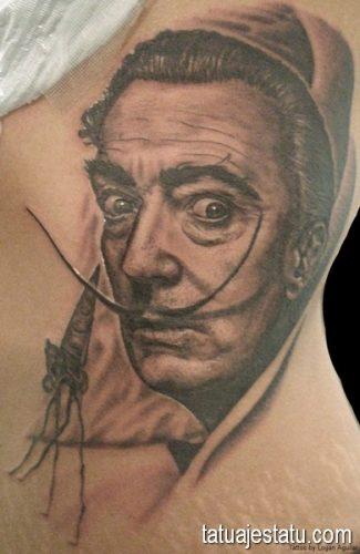 tatuajes salvador dali18