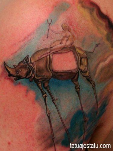 tatuajes salvador dali20