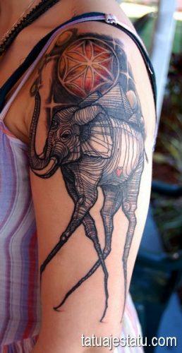 tatuajes salvador dali8
