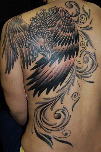 tatuajes de ave fenix4