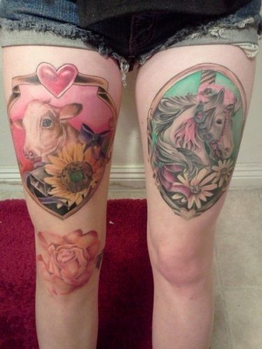 tatuajes de vacas12