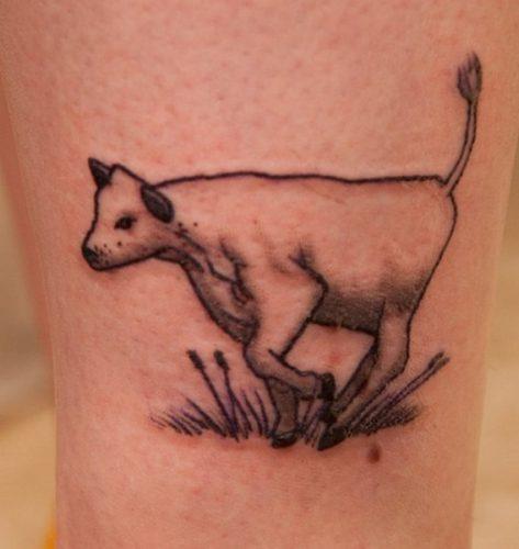 tatuajes de vacas18