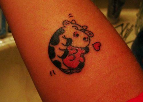 tatuajes de vacas5