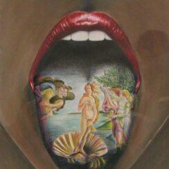 30 novedosos tatuajes en la lengua que te asombrarán