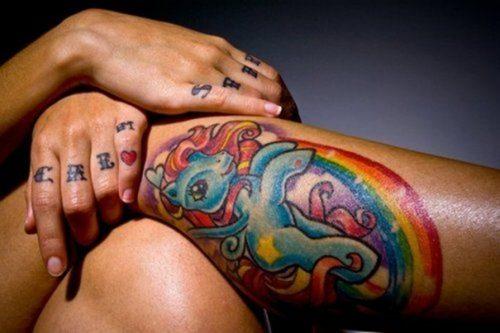 tatuajes de arcoiris19