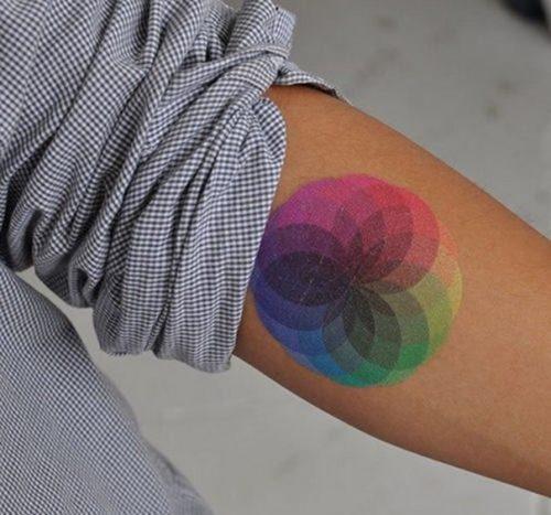 tatuajes de arcoiris28