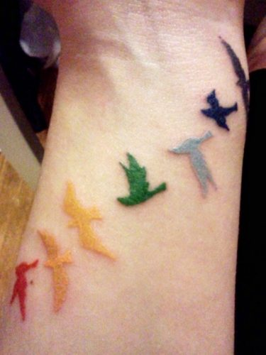tatuajes de arcoiris5