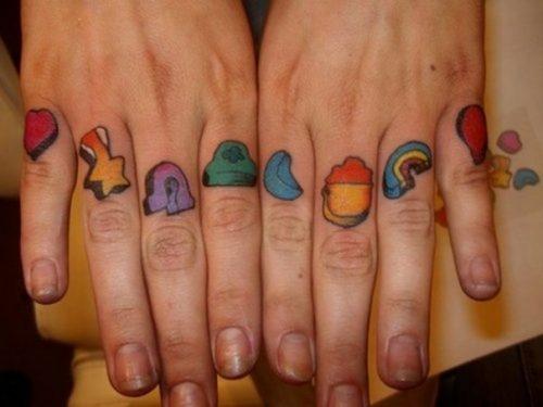 tatuajes de arcoiris8