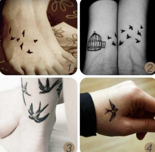 tatuajes de bandadas de aves1