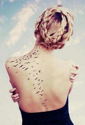 tatuajes de bandadas de aves19