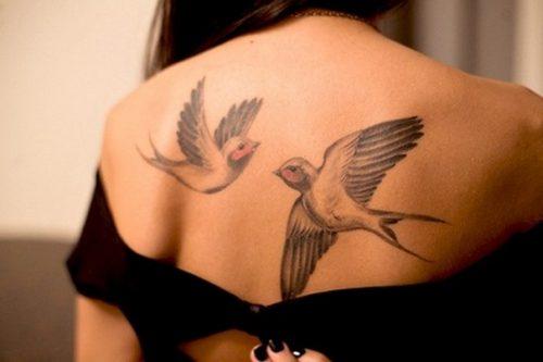 tatuajes de bandadas de aves26