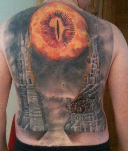tatuajes del señor de los anillos13
