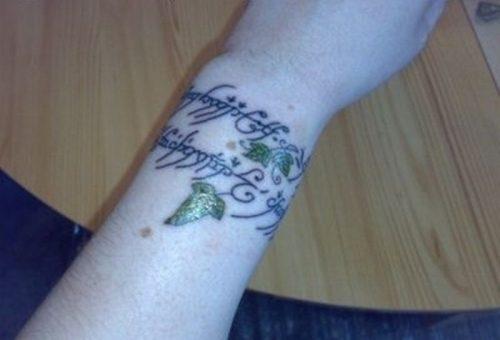 tatuajes del señor de los anillos17