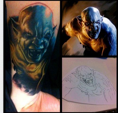 tatuajes del señor de los anillos2
