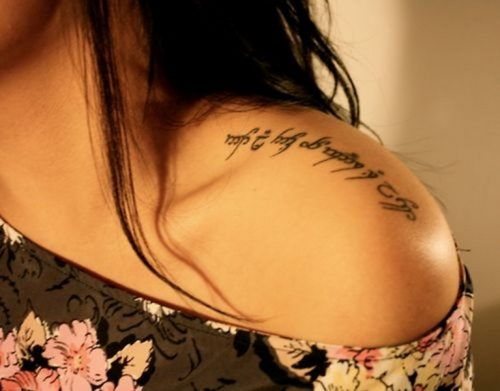 tatuajes del señor de los anillos4