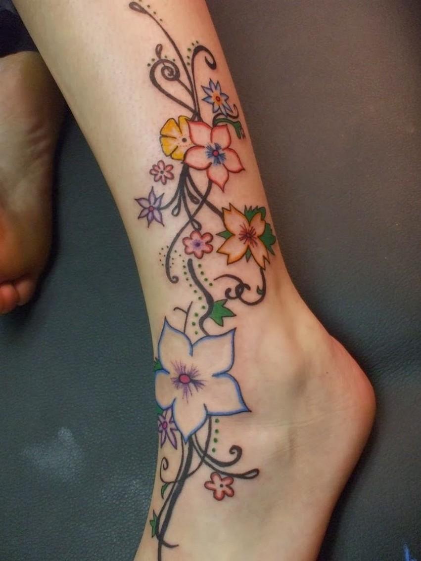 79 tatuajes para mujeres en la pierna - Tatuajes de pared ...