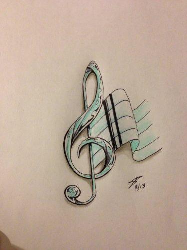 tatuajes-pequenos-de-notas-musicales-17