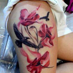 79 tatuajes para mujeres en la pierna