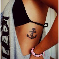 Diseños de tatuajes de anclas o áncoras y significados