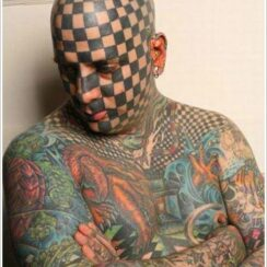 40 diseños de tatuajes en la cara espectaculares