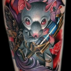 30 Tatuajes de ratas y ratones 100% originales