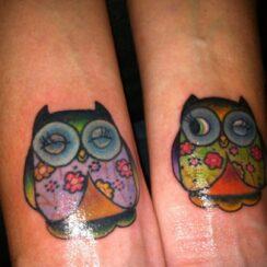 40 Tatuajes de Búhos que te inspirarán
